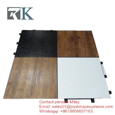 China Portable Screw Type Locking 1m 1m Plywood Dance Floor