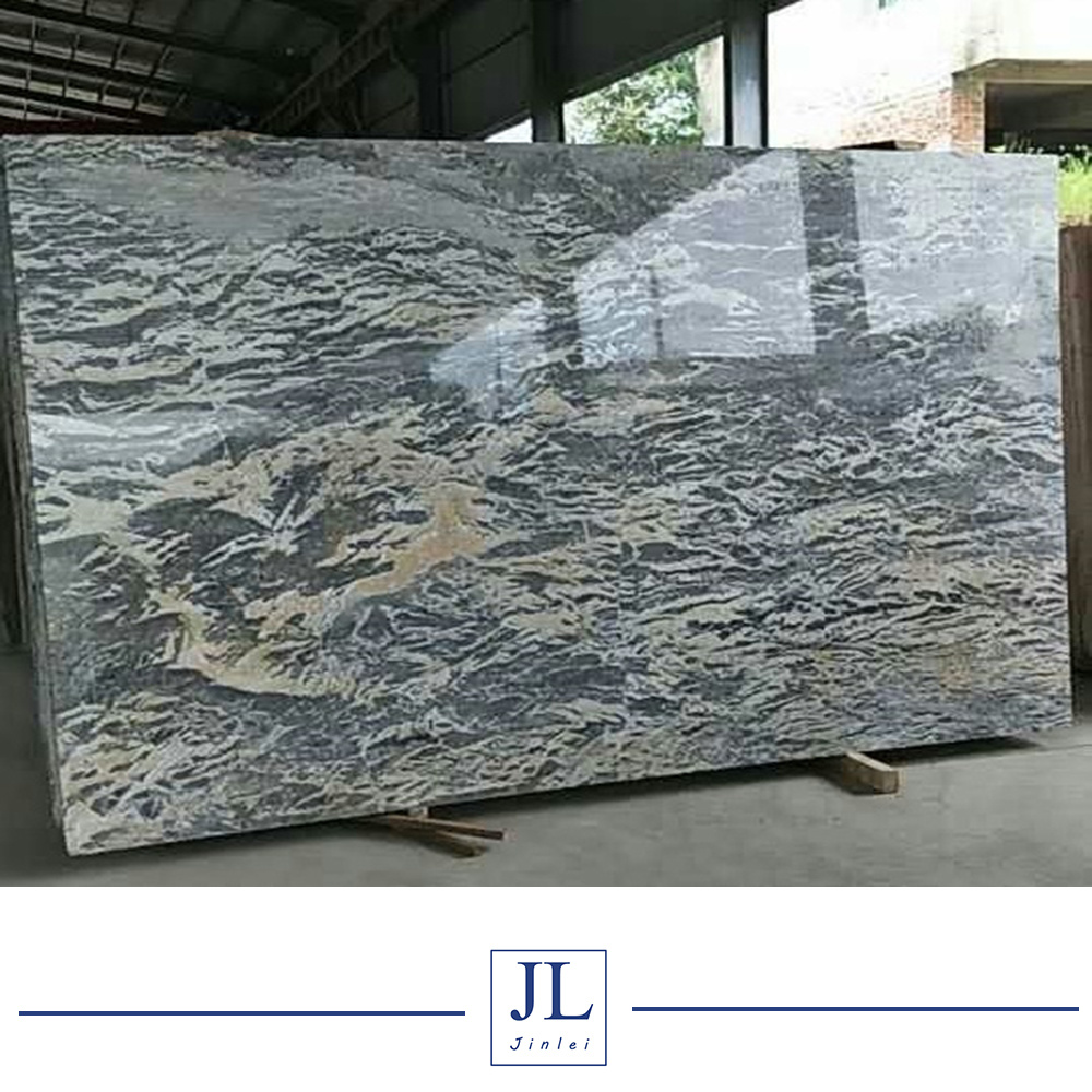 China Perth Blue Grey Marble Polished Tilesslabscountertop Wall