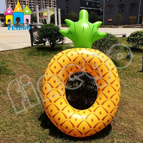 Inflatable Pineapple Air Floating Donuts Pool Floats Swim Ring pictures & photos
