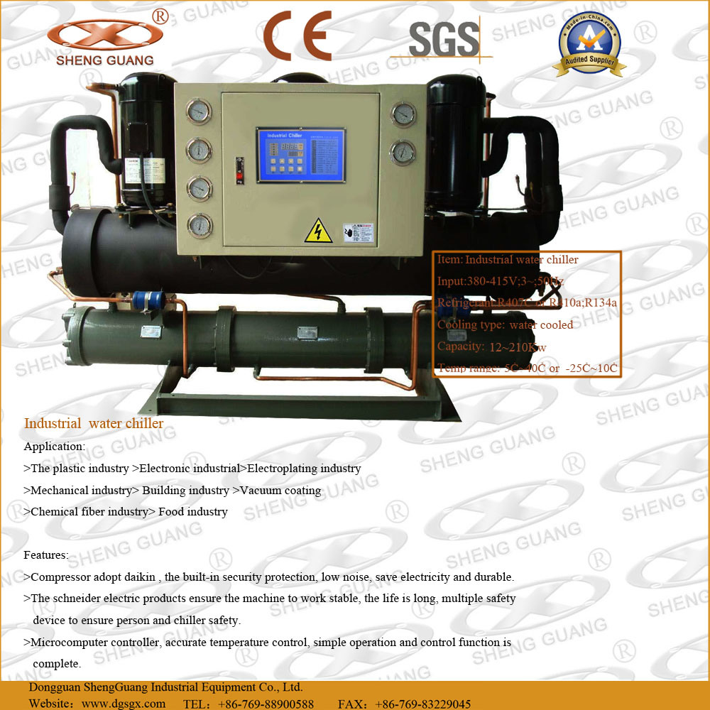 Industrial chillers: description, application, device and types 32