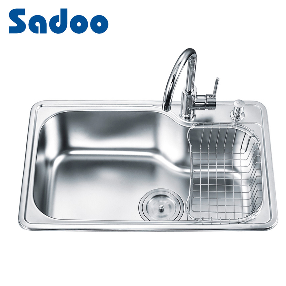China 18 gauge kitchen sink for sale sd 7246 china 18 gauge kitchen sink kitchen sink