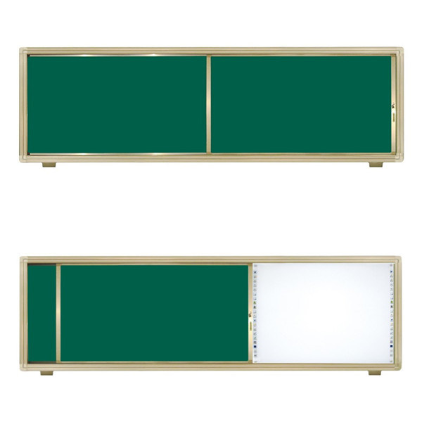 Cream-Colored Interactive Sliding Writing Board pictures & photos