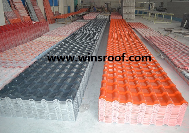 Wins PMMA Synthetic Resin Roof Tile Royal Type