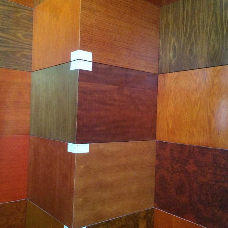 Fsc Quality Assured Plywood Wallboard for Hotel Project