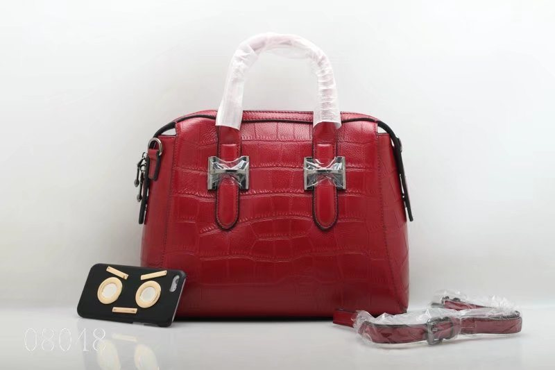Special Handmade Good Quality Fashion Leather Handbag (F8048) pictures & photos