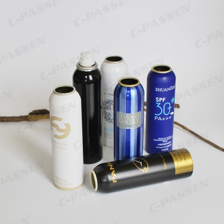 Aluminum Aerosol Can for Sunscreen Spray Packing (PPC-AAC-024)