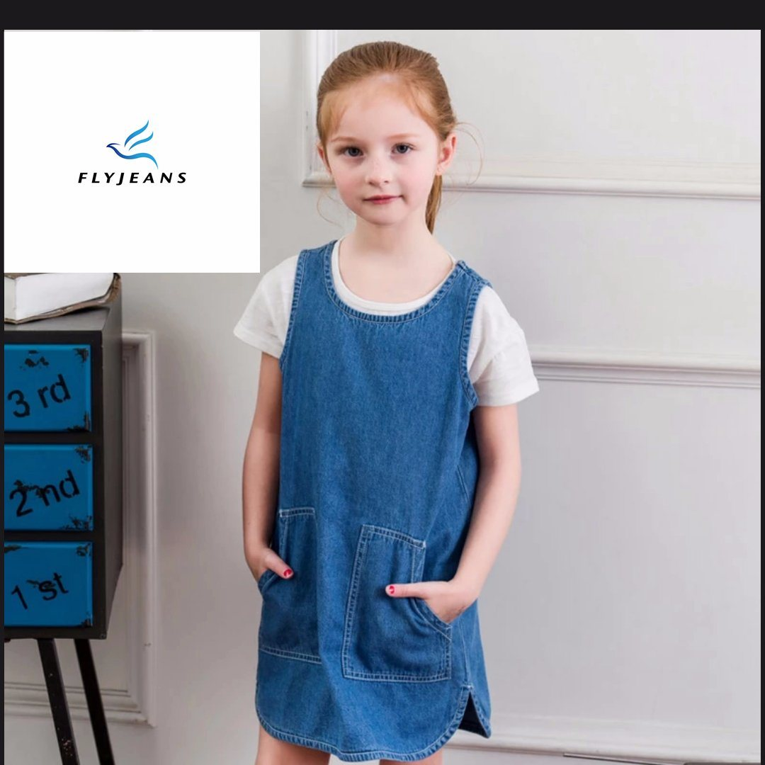 a65ece2a4dc China New Style Contracted Comfortable Girls′ Sleeveless Denim Dresses by  Fly Jeans - China Girls Denim Overall