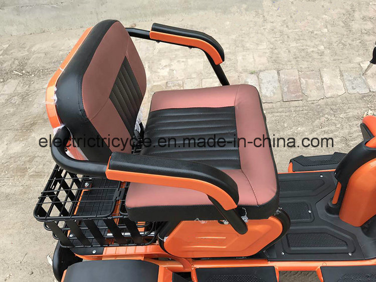 China Electric Scooter 48V350W Disabled Electric Moped, Electric Tricycle pictures & photos