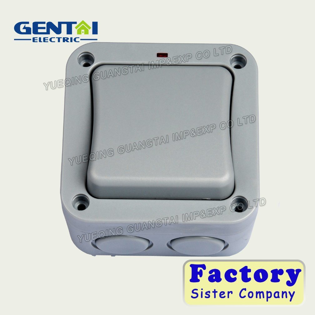 China Bg Type 1 Gang 2 Way Weatherproof Switches Ip66 Wiring Accessories Socket Outlets Waterproof Outdoor Enclosures