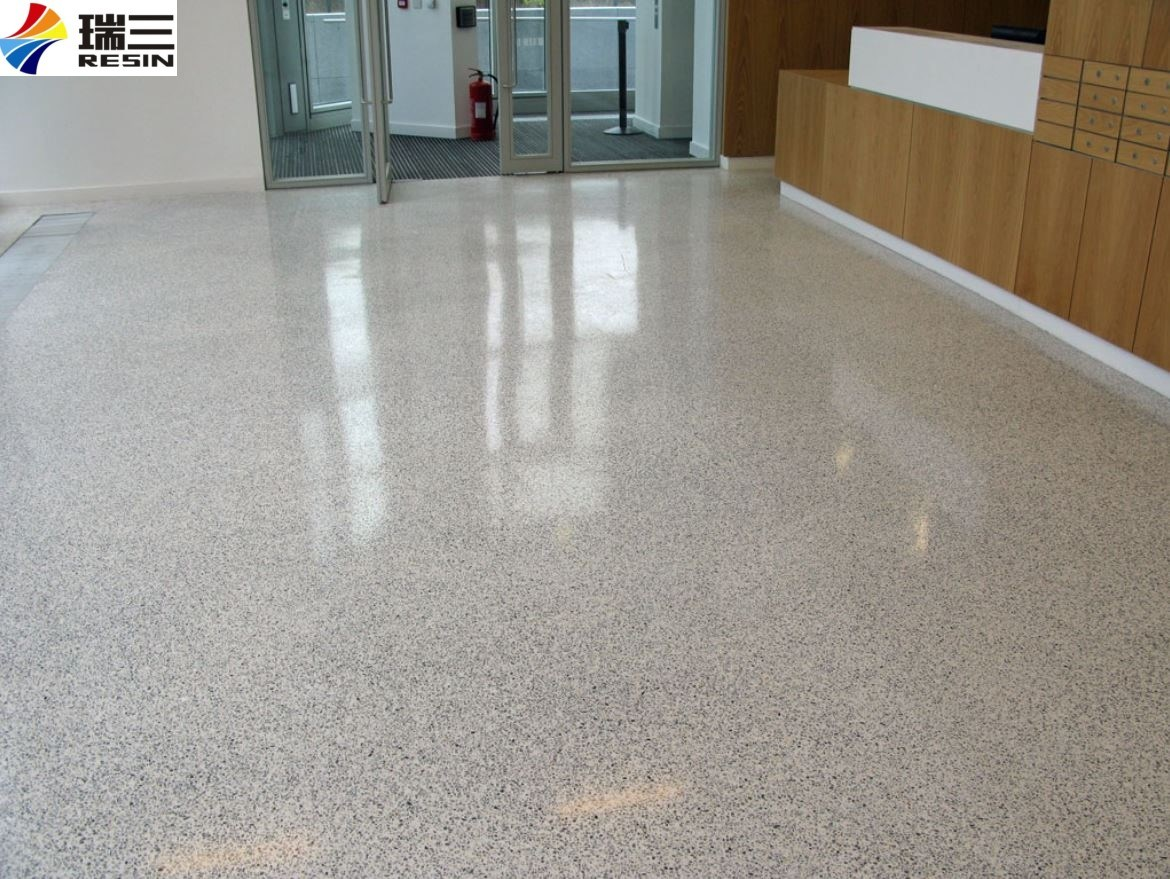 China Cheap Premium Garage Floor Epoxy Resin With Decorative Color Flakes China Flooring Coating