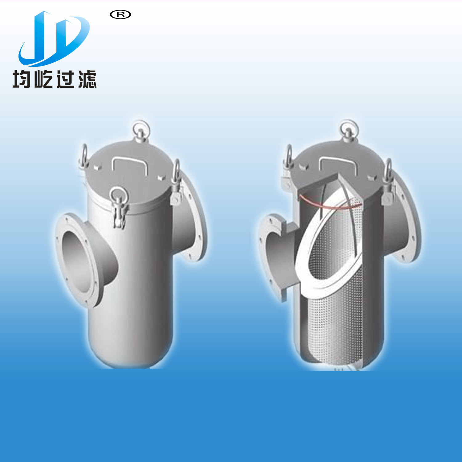 China Engine Oil Crude Basket Strainer Diesel Fuel Filter Strainers And Filters