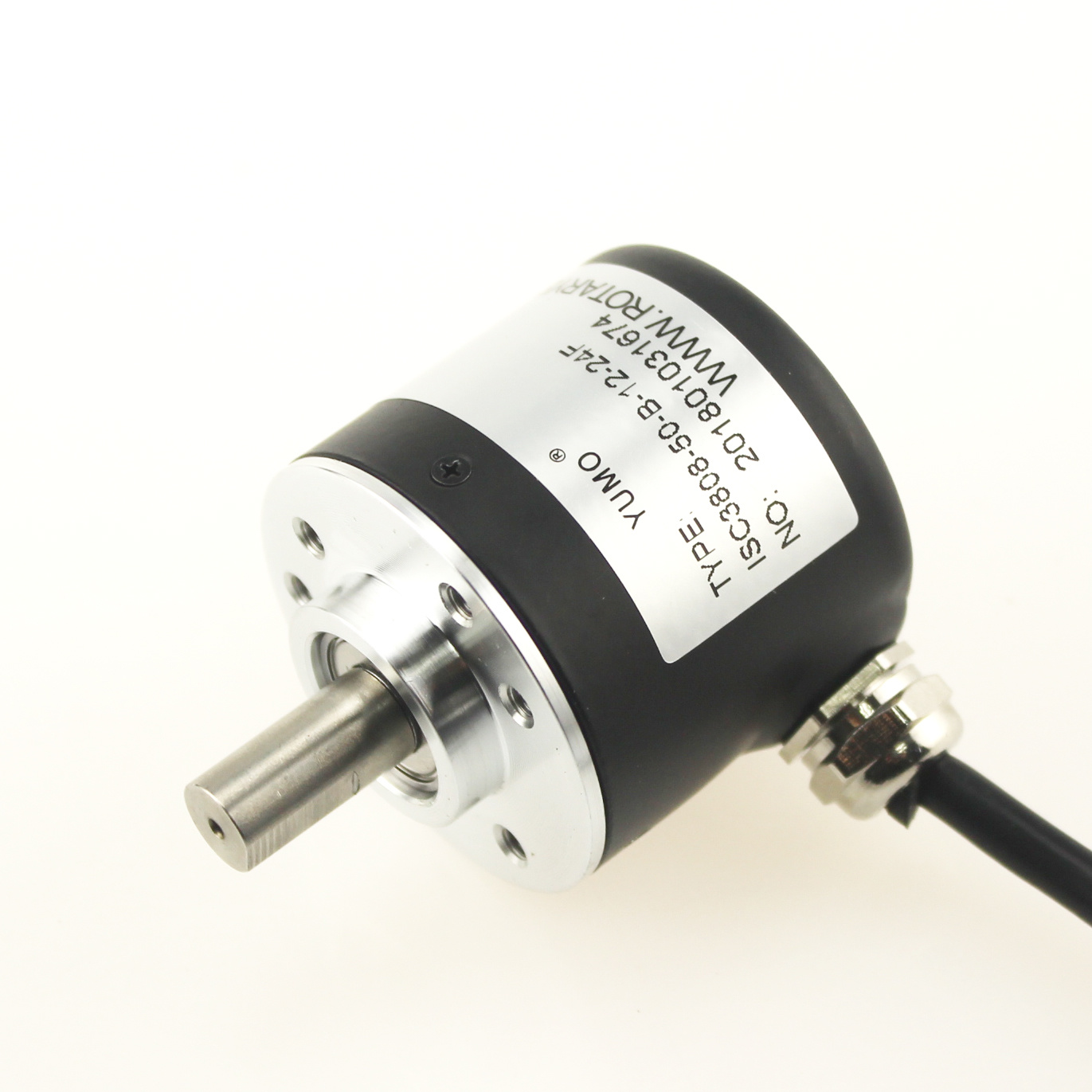 [Hot Item] Isc3808 Small Pulse Ab Phase Push-Pull Rotary Encoder (42PPR,  50PPR)