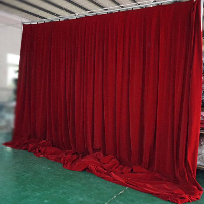China Indian Wedding Decoration Backdrop Pipe And Drape For Sale