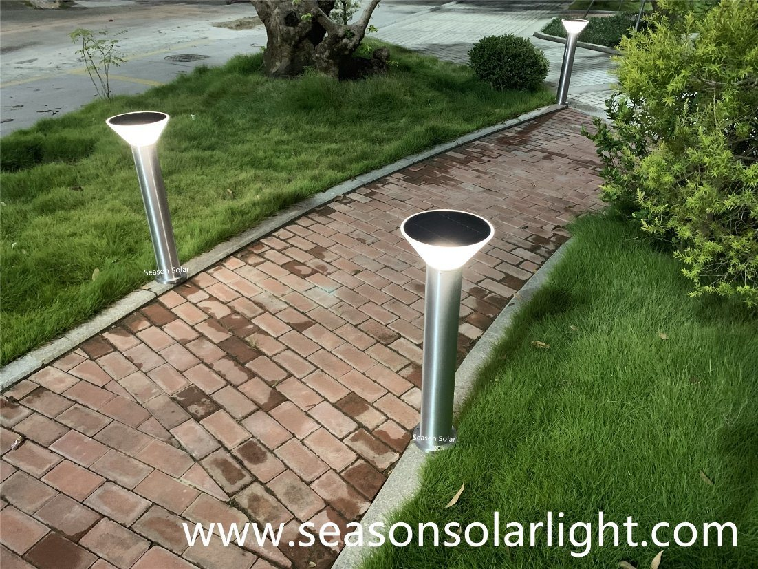 China Factory Energy Led Lighting Ce 5w Solar Garden Lamp Outdoor Pathway Lighting Led Pole Solar Lamp Photos Pictures Made In China Com