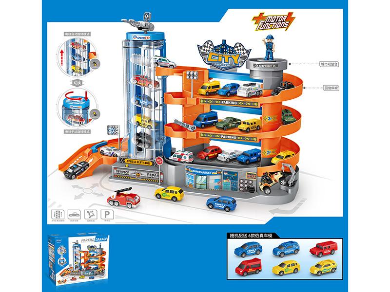 China Hot Wheels Super Kids Toy Motor, Parking Garage Toys