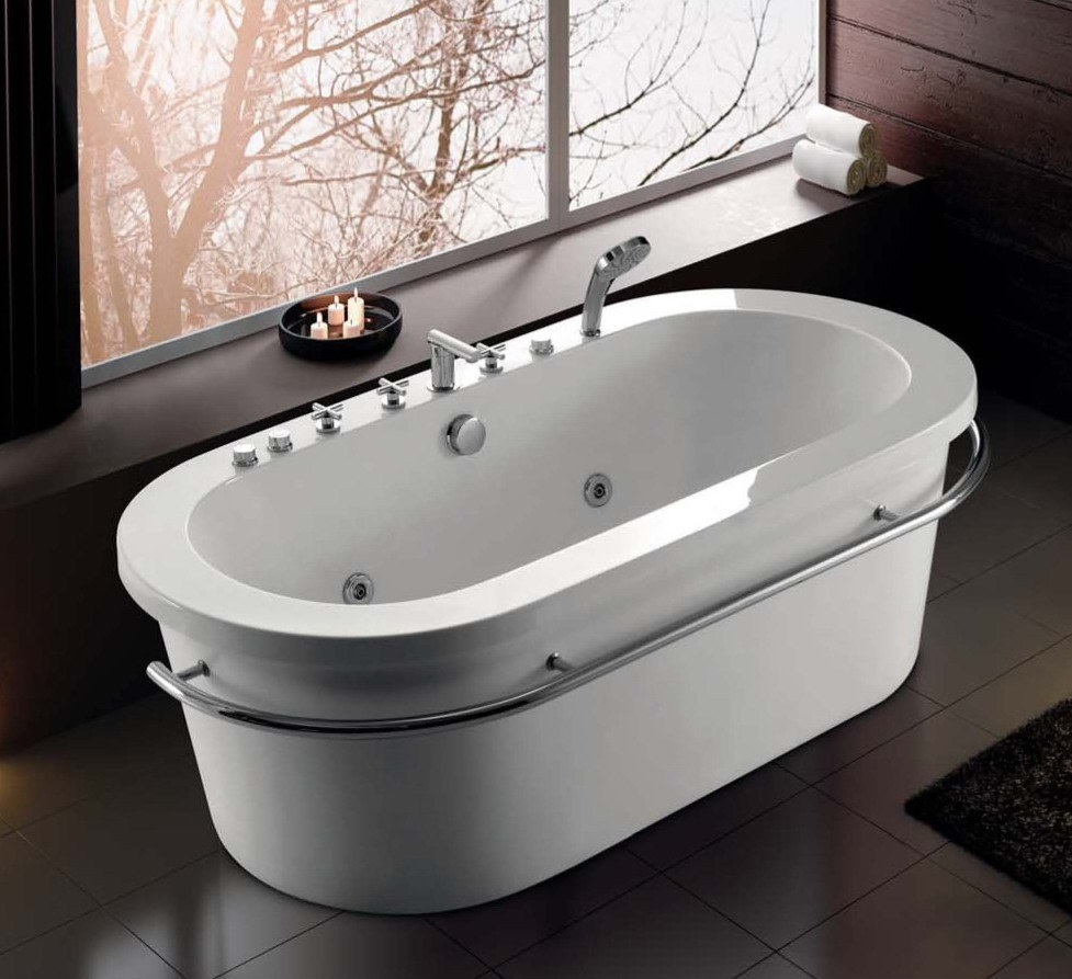 China Korra Jaccuzi/ Whirlpool Massage/Bathtub with Handshower ...