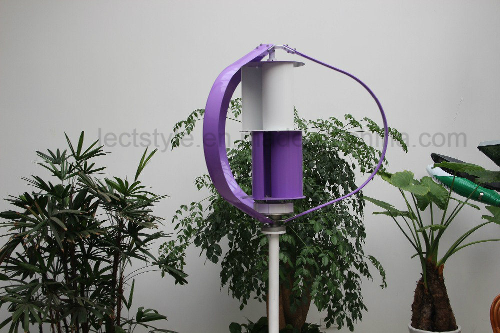 12V 24V 200W Vertical Axis Wind Turbine / Wind Generator pictures & photos