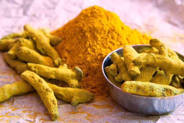 Curcumin Diferuloylmethane Bright Yellow Powder Herbal Supplement Food Additive Curcuminoid Turmeric