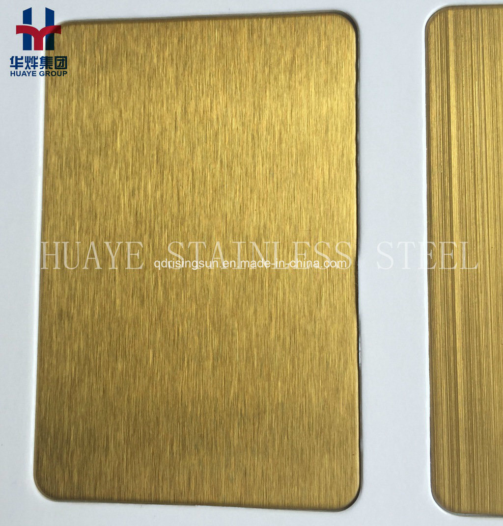 China High Quality Gold Rose Gold Titanium Coated Stainless Steel ...