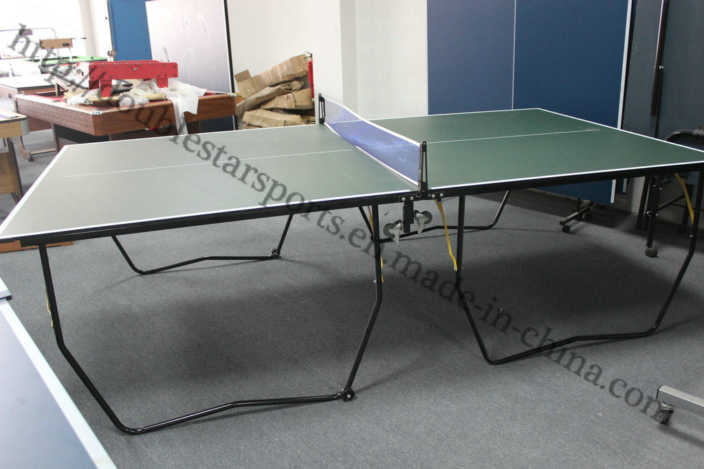 High Grade Folded Movable Table Tennis for Indoor Used