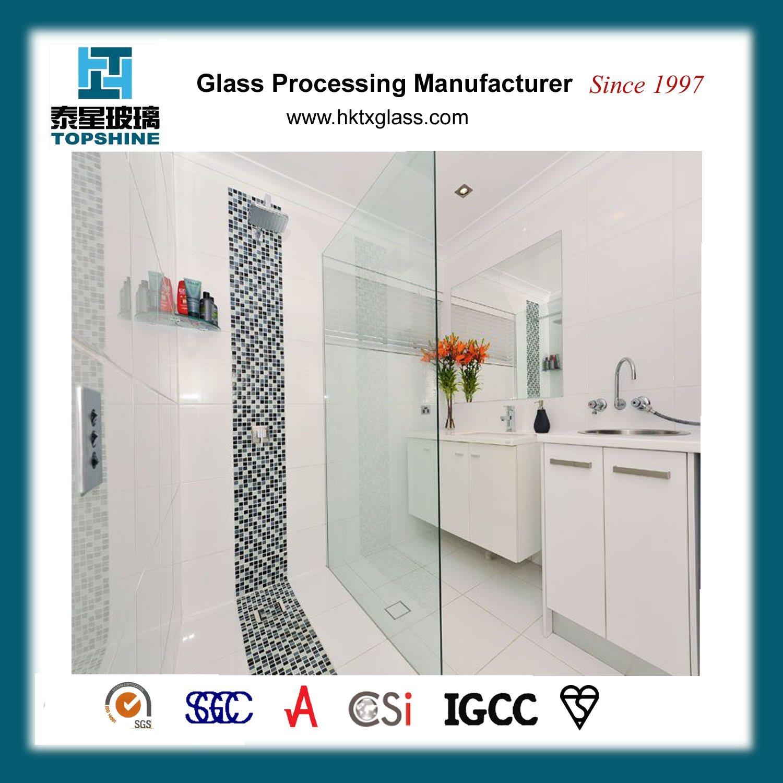 China Supplier Shower Glass Partition/Frameless Shower Enclosure ...