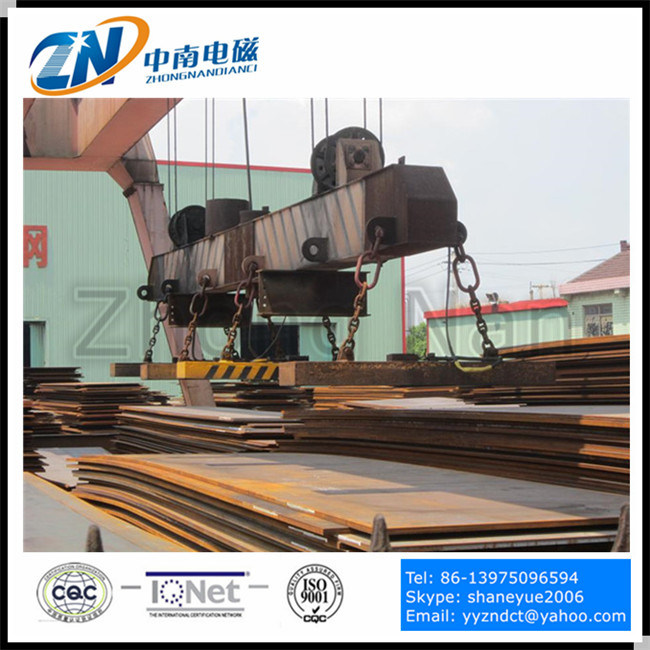 Rectangular Lifting Magnet for Steel Plate Handling MW84