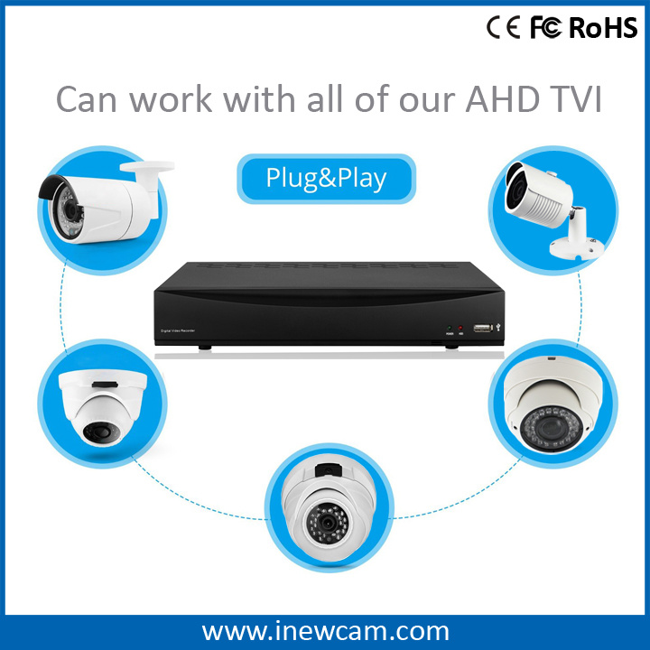 720p 8channel P2p HDMI BNC Video Recorder Ahd DVR pictures & photos