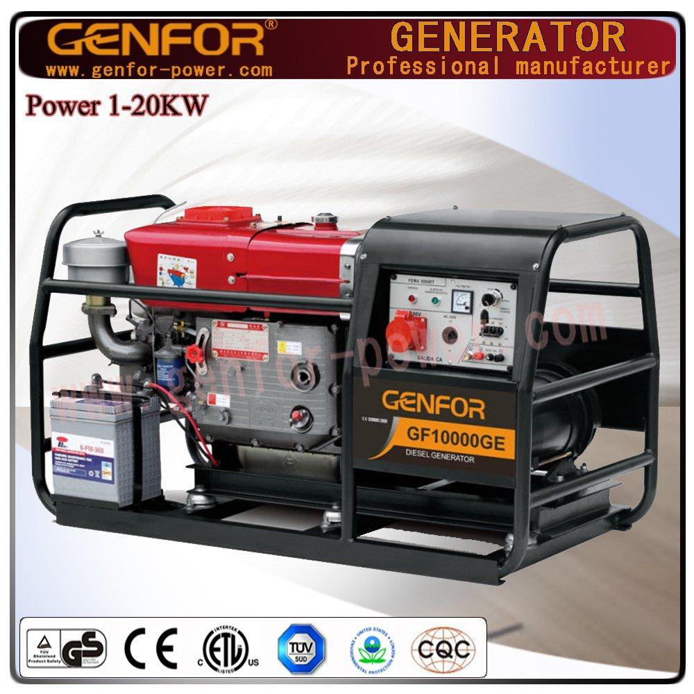 [Hot Item] Low Fuel Consumption Diesel Generator 12kVA Wtih Powerfull  Generator