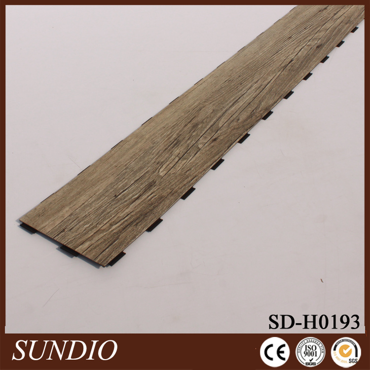 Rosewood Look Laminate PVC Plastic Flooring pictures & photos