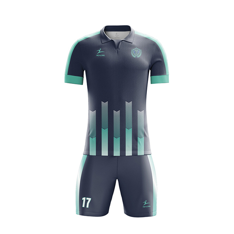 China Top Sale Custom Free Design Football Jersey Designs Logo Soccer Uniform China Soccer Jersey And Soccer Uniforms Price