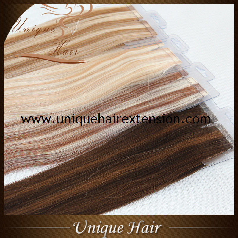 China Best Quality Double Drawn Tape Hair Extensions Manufacturer