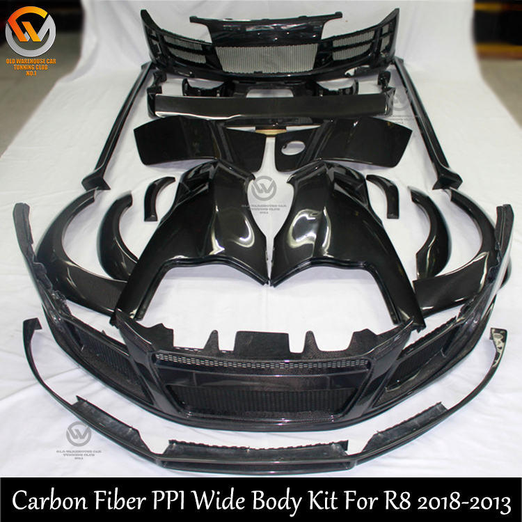 Audi Auto Body Parts: China Car Accessories Ppi Body Kit For Audi R8 Front
