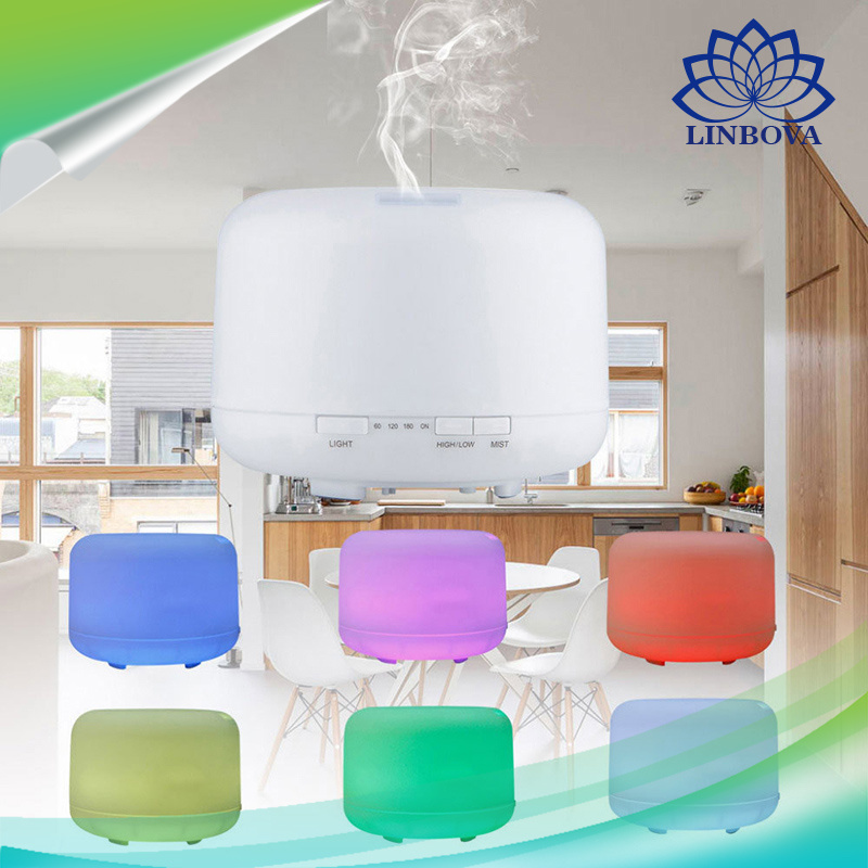 Home, Furniture & DIY Humidifiers 500ML LED Colour