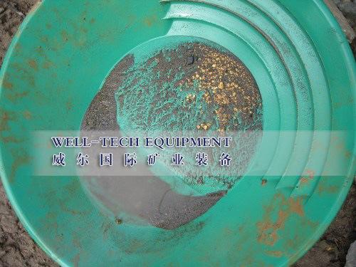 [Hot Item] River Sand Plastic Gold Pan, Gold Wash Pan