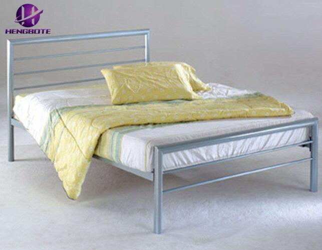China Antique Black Bedroom Furniture, Wood And Black Metal Bedroom Furniture