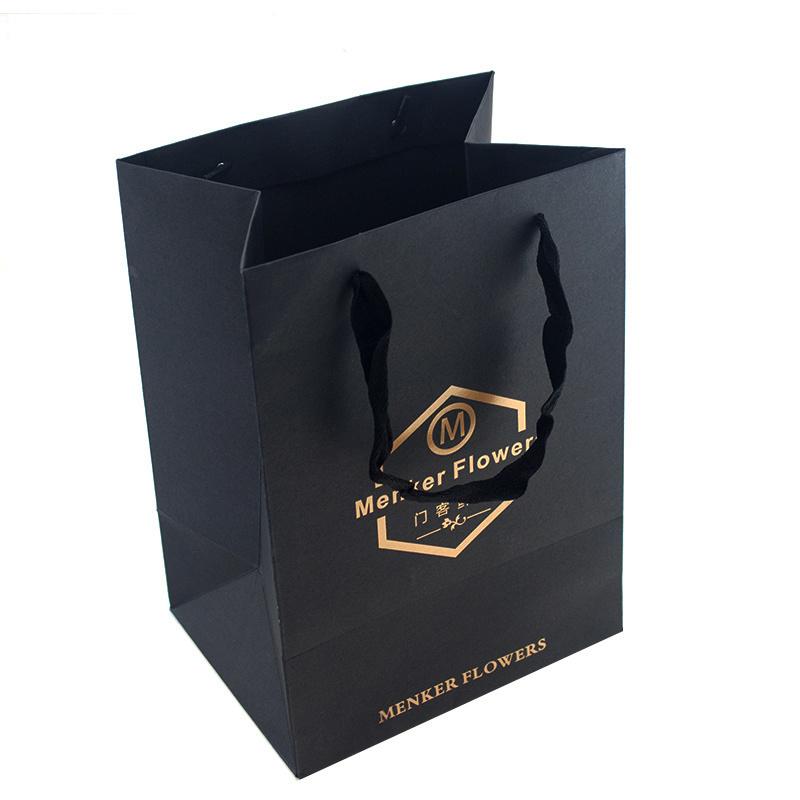 Hot Foil Stamping Logo Paper Bag