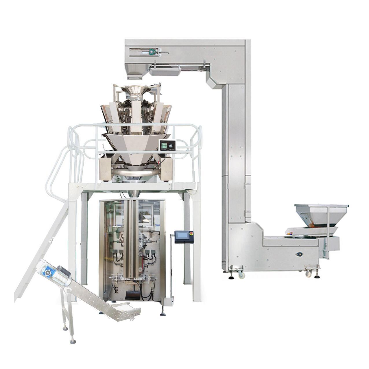 Good Price China Automatic Quad Seal Vertical Biscuit Packing Machine for Food pictures & photos