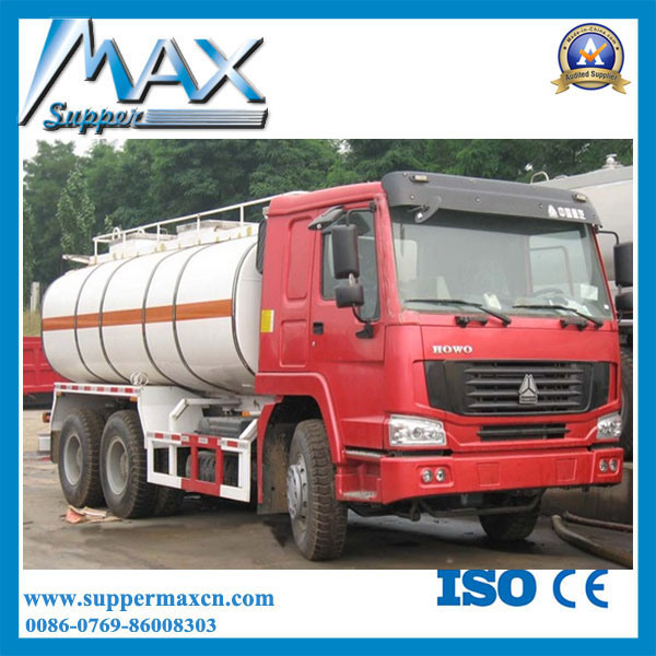 China HOWO Fuel Tank Truck Heavy Fuel Tanks Trucks 30m3
