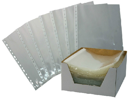 16 Holes PP Sheet Protector (DP-314743)