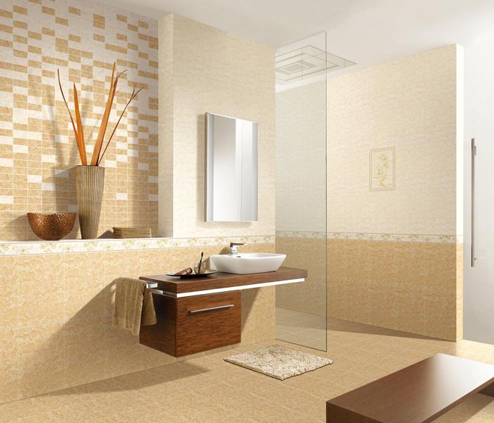Bamboo Bathroom Tiles Wall