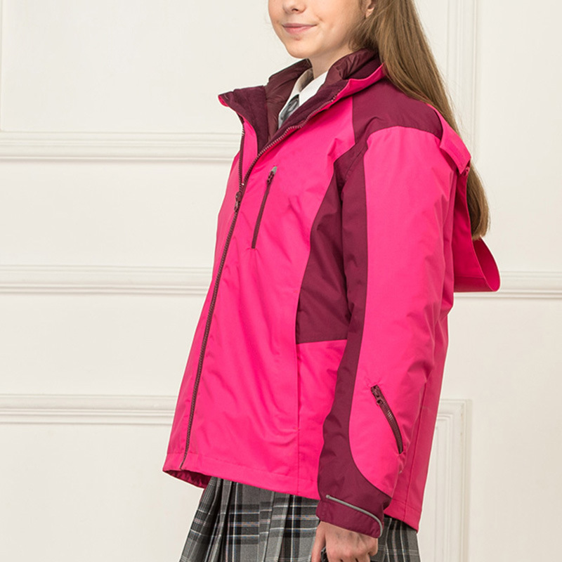 School Style Jacket Wholesale Top Design Young Winter Jackets