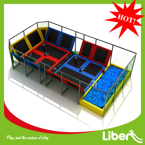 Getting Trampoline Springs Off: China New Design Used Square Sydney Indoor Trampoline For