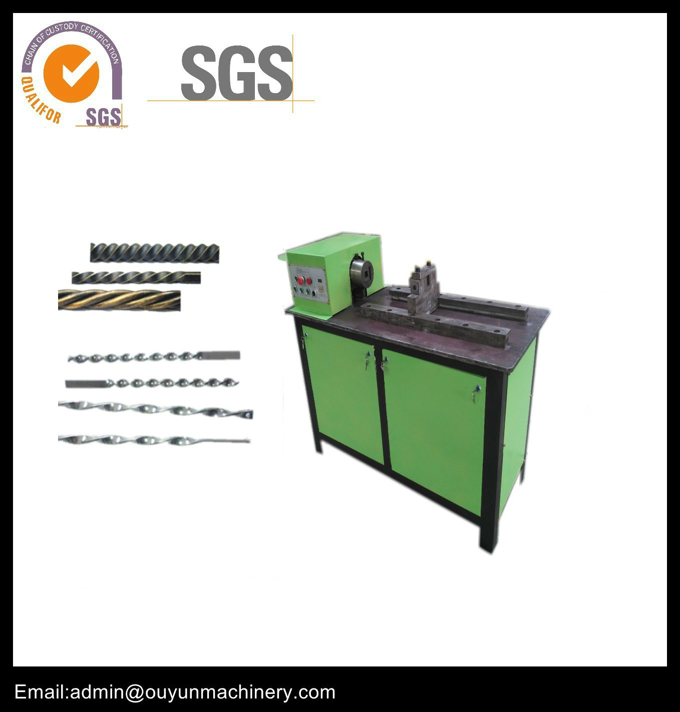 Wrought Iron Thread Twisting Machine for Ornamental Iron Work pictures & photos