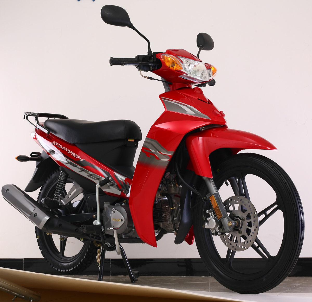 China new cub motorcycle scooter yamaha crypton 110cc for Yamaha motorcycles made in china