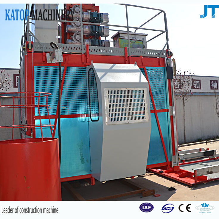 Sc100/100 1t Constuction Elevator with Spare Parts