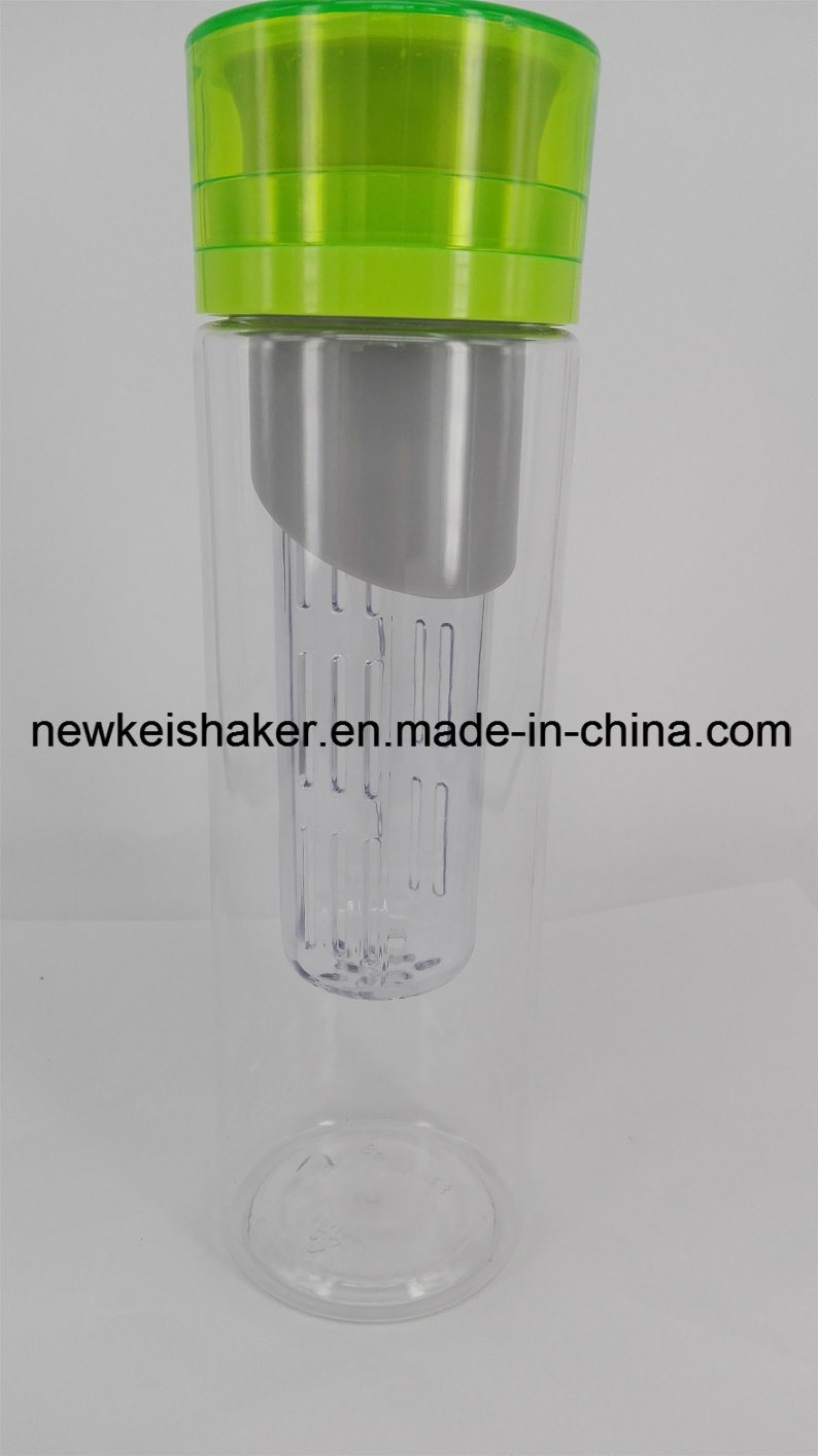 New Tritan Infusd Water Bottle China 750ml Hot Sale Fruit Infuser Drinking