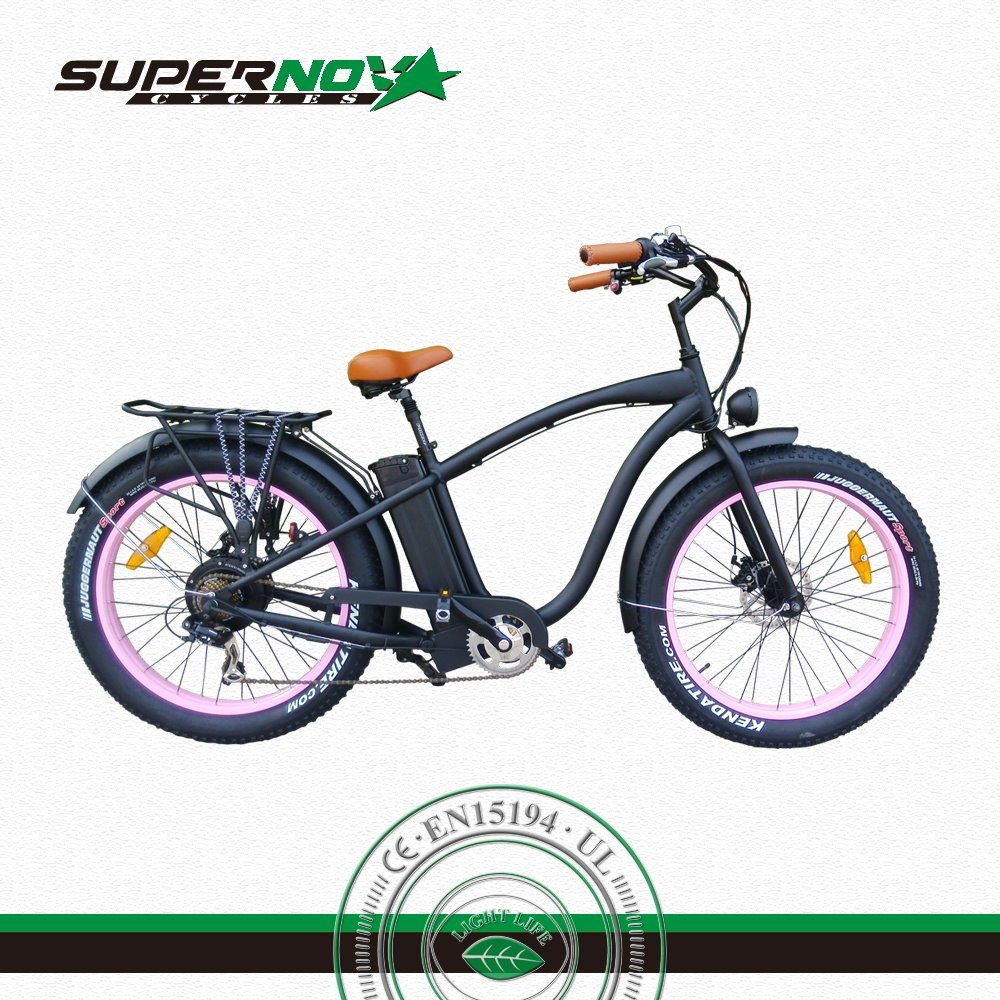 Ce Fat Tyre Lithium Electric Bike/Bicycle/Ebike with 25km/H pictures & photos