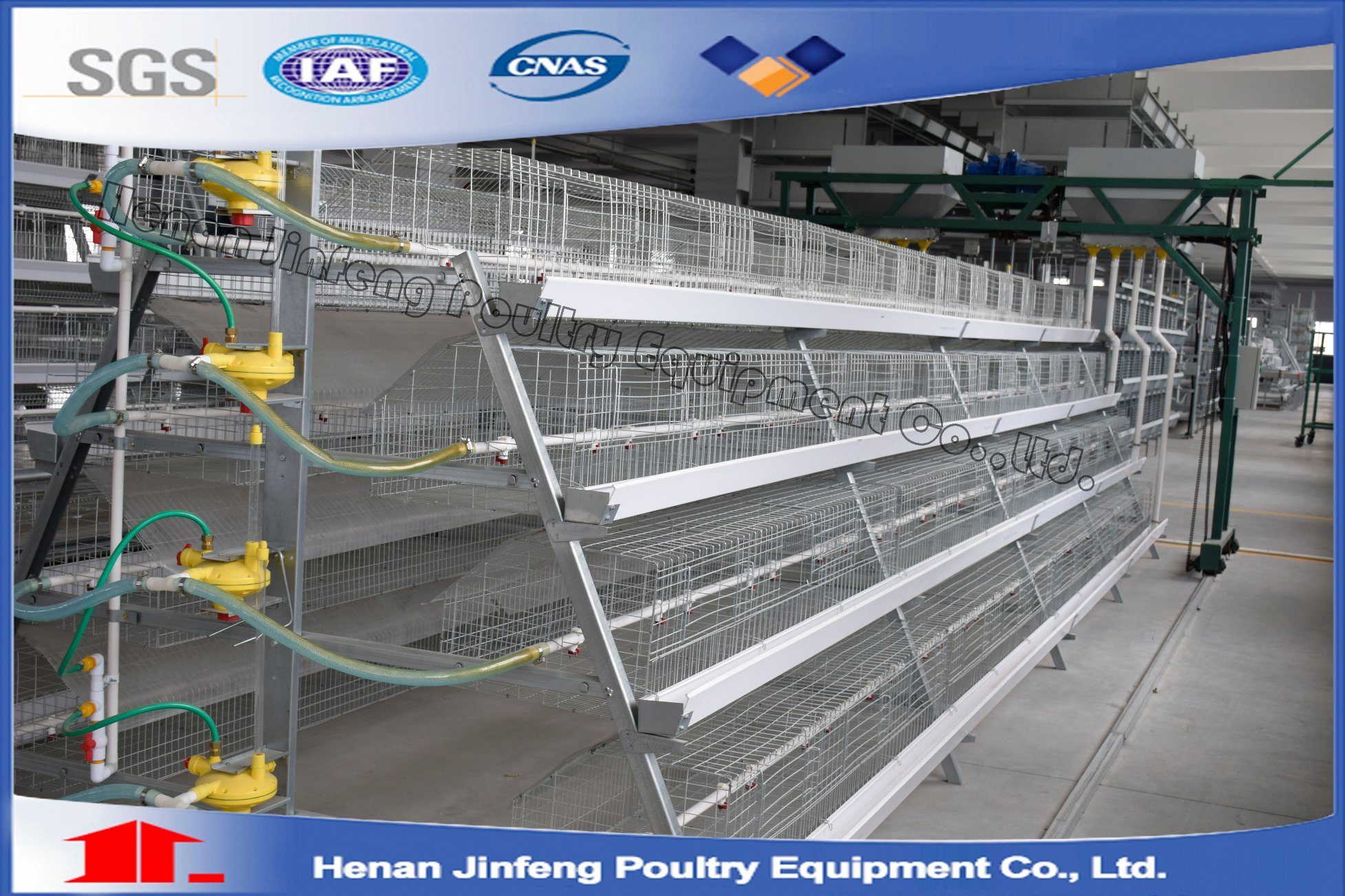 3-5 Tiers Poultry Farm Battery Layer Chicken Cage (Poultry Equipment) pictures & photos