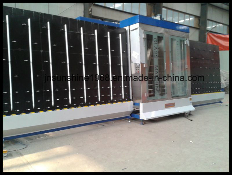 Vertical Flat Float Glass Cleaning and Drying Machine