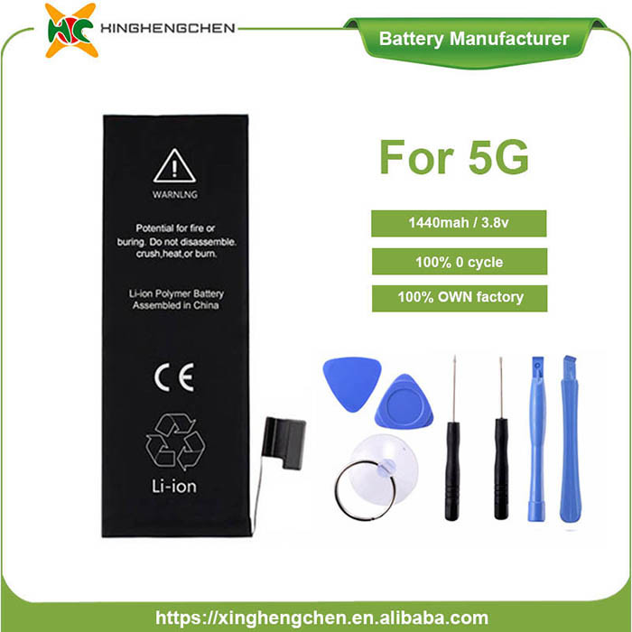 1510mAh Li-ion Battery for iPhone 5c 5s Mobile Phone Battery pictures & photos